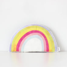 Load image into Gallery viewer, Rainbow Cushion - Pastel