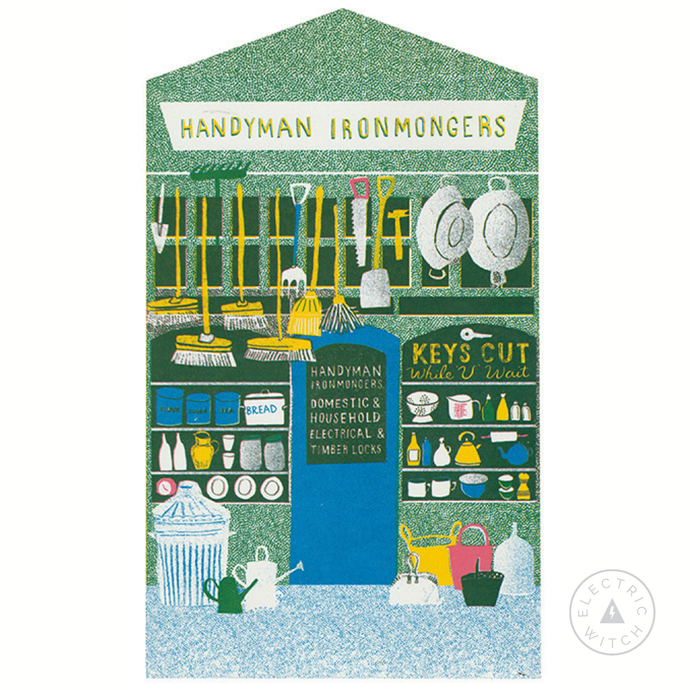 The Ironmongers - Up My Street Card