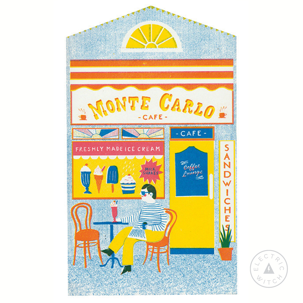 The Café - Up My Street Card