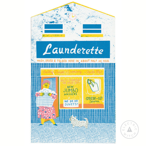 The Launderette - Up My Street Card