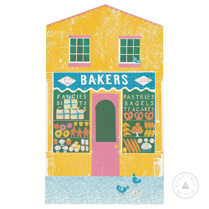 The Bakers - Up My Street Card