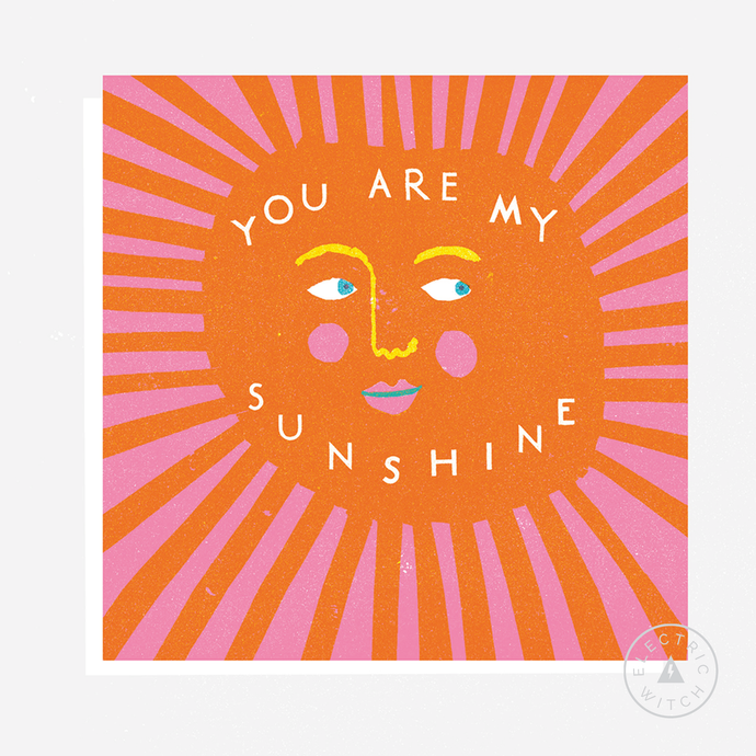 Sunshine Card : Square Greetings Card