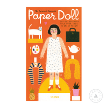 Load image into Gallery viewer, Paper Doll : Paper Toy