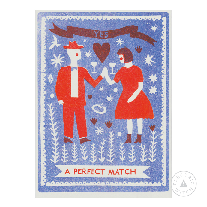 Perfect Match : A4 riso print