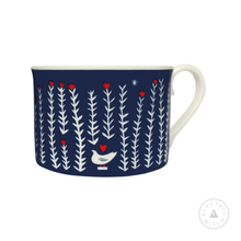 Load image into Gallery viewer, Folk Life Plants Cup : Bone China Cup