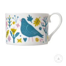 Load image into Gallery viewer, White Garden Cup : Bone China Cup