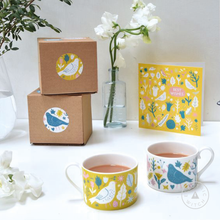 Load image into Gallery viewer, Yellow Garden Cup : Bone China Cup