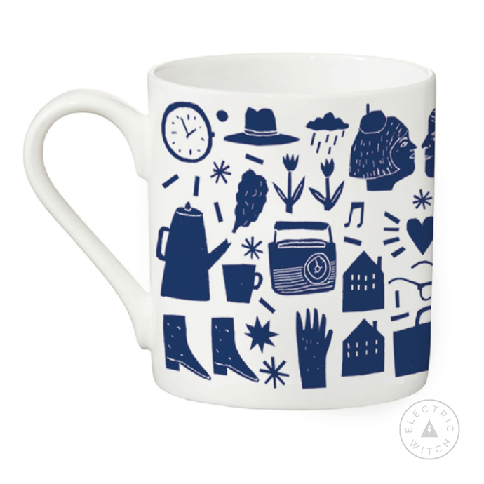 Morning Mug : Bone China Mug