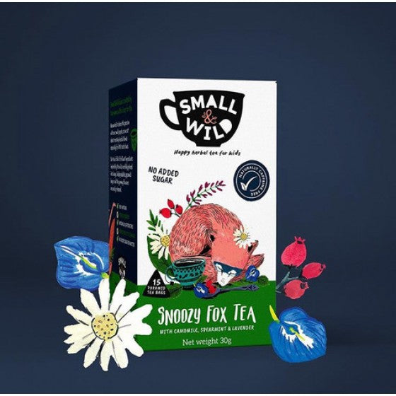 Snoozy Fox Tea with Camomile, Spearmint & Lavender