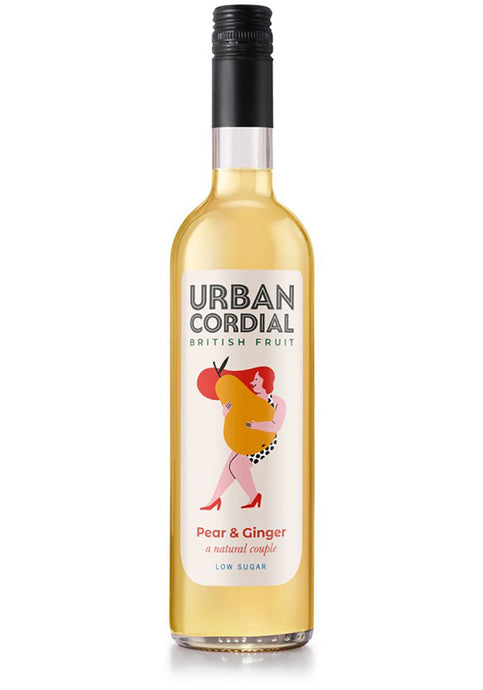 Urban Cordial - Pear & Ginger 500ml
