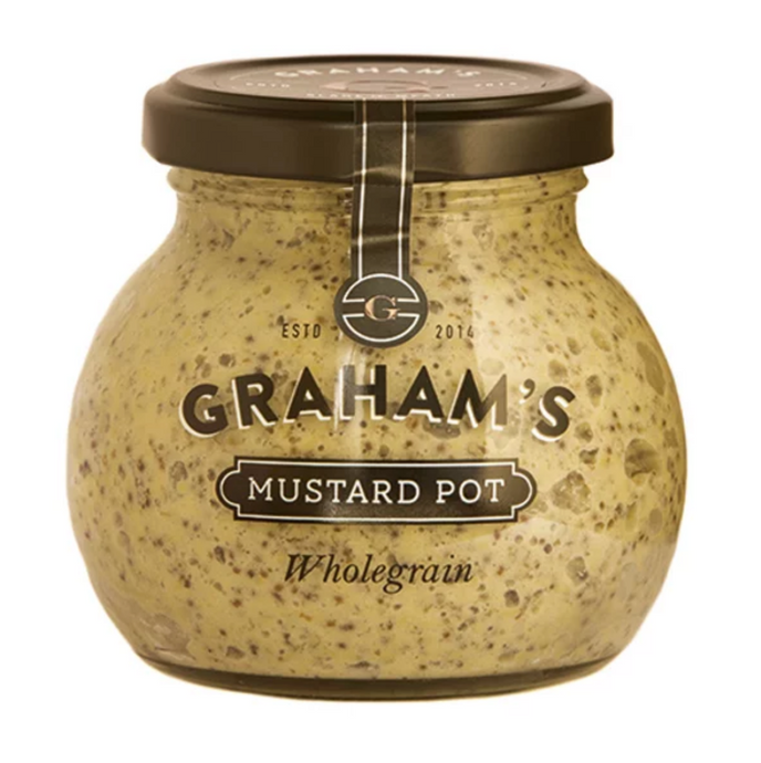 Graham's Wholegrain Mustard 210g