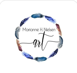 Logo Marianne H Nielsen Abstract Art