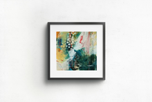 Load image into Gallery viewer, Mini abstract painting on watercolour paper