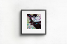 Load image into Gallery viewer, Mini abstract painting on watercolour paper.