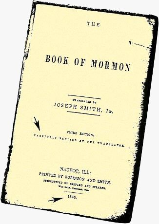 1840 Book of Mormon Title Page