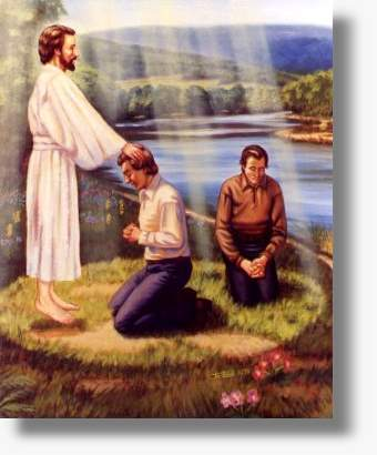 Ordination of Joseph Smith and Oliver Cowdery, by Joseph Lewis