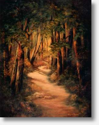 The Woodland Path, by Virginia Brown
