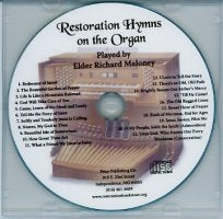 Restoration Hymns on the Organ (CD), by Richard Maloney