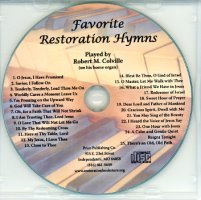 Favorite Restoration Hymns (CD), by Robert M. Colville