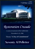 Seventy Al Pelletier: Restoration Crusade (CDs)