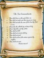 Ten Commandments (8.5