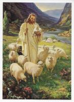 "Good Shepherd, The (5"" x 7""), by Sallman"