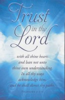 Trust in the Lord (General Bulletin)