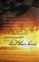 Heal Their Land (Patriotic Bulletin)