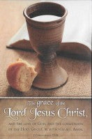 Grace of the Lord Jesus Christ, The (Sacrament Bulletin)
