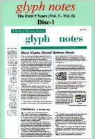 glyph notes--Disc 1, The First 5 years (Vol. 1-6) (CD)