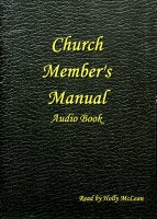 Church Member's Manual (CD Audio Book), read by Holly McLean