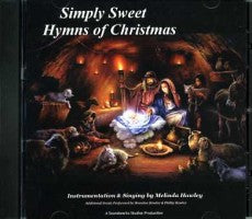 Simply Sweet Hymns of Christmas (CD), by Melinda Hawley