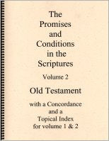 Promises and Conditions in the Scriptures, The--Volume 2, by Dennis Moe