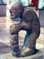 Statue at Jalapa Museum (magnet), by Janice Thomas