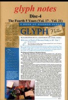 glyph notes--Disc 4, The Fourth 5 Years (Vol. 17 - Vol. 21) (CD)