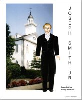 Joseph Smith Jr. (Paper Doll), by Nancy Harlacher