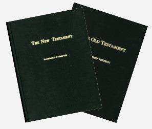 Set of Inspired Version Large-Print (Old and New Testaments)
