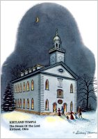 Kirtland Temple (1 pkg. Christmas Cards), by Sidney Moore