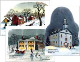 Sidney Moore's Christmas Cards (3 pkgs.; 1 of each)