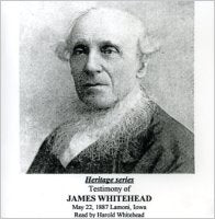Heritage Series: James Whitehead Testimony (CD)