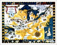 Map of Church History, A, by artist Aileen Bullard Franklin