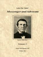 Messenger and Advocate:  Volume 3