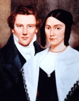"Joseph and Emma Smith (8"" x 10""; portrait)"