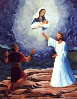 Nephi's Vision of the Virgin and Child (8