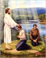 Ordination of Joseph Smith and Oliver Cowdery (8