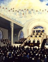 "Dedication of Kirtland Temple, The (11"" x 14""), by Nancy Harlacher"