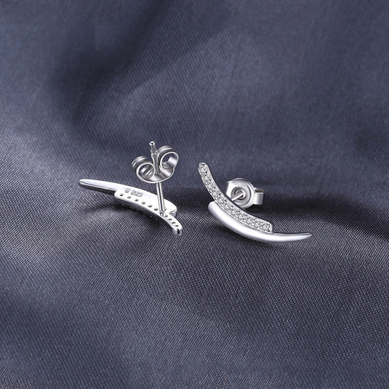 SILVER WINGS EARINGS