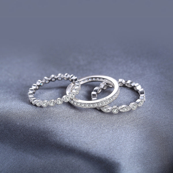 MINI SILVER RING SET