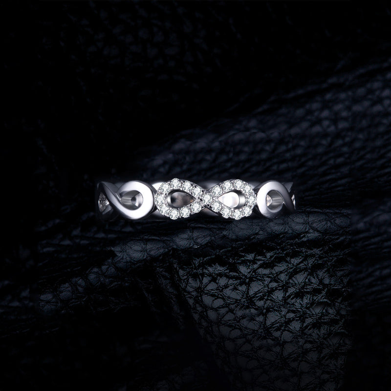 MINI SILVER INFINITY RING