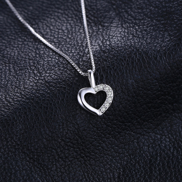 LOVE HEART SILVER PENDANT